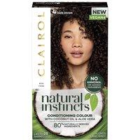 Clairol Natural Instincts Semi-Permanent No Ammonia Vegan Hair Dye 177ml (Various Shades) - 3 Brown