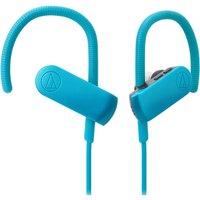 Audio Technica Bluetooth Sports Headphones - Blue/Black