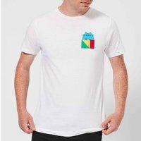 Pusheen Square Men's T-Shirt - White - 5XL - White