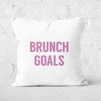 Brunch Goals Square Cushion - 60x60cm - Soft Touch