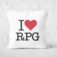 Image of I Love RPG Square Cushion - 50x50cm - Soft Touch