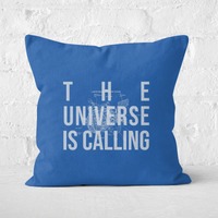 The Universe Is Calling Schematic Square Cushion - 60x60cm - Soft Touch