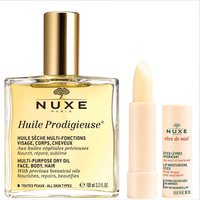 NUXE Huile Prodigieuse Oil and Lip Stick Duo (Worth PS35.50)
