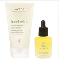 Aveda Hand Relief and Jessica Phenomen Oil Duo (Worth PS35.10)