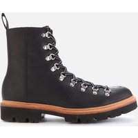 Grenson Men's Brady Leather Hiking Style Boots - Black - UK  8