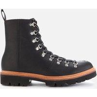 Grenson Men's Brady Leather Hiking Style Boots - Black - UK  8