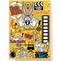 Looney Tunes Happy Birthday Greetings Card - Large Card