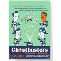 Ghostbusters We Believe You Greetings Card - Giant Card
