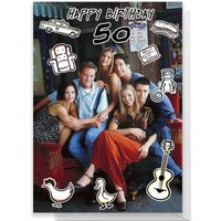 Friends Birthday 50th Greetings Card - Standard Card