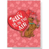 Scooby Doo Valentines Ruv Greetings Card - Standard Card