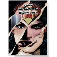 Wonder Woman International Women's Day Greetings Card - Standard Card