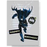 Batman Happy Birthday Greetings Card - Standard Card