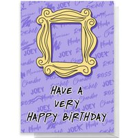 Friends Happy Birthday Greetings Card - Standard Card
