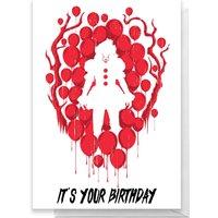 IT Happy Birthday Greetings Card - Standard Card