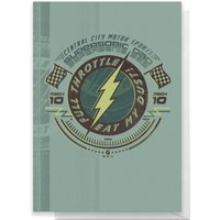 The Flash Father's Day Greetings Card - Standard Card