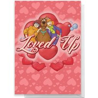 Scooby Doo Valentines Loved Up Greetings Card - Large Card