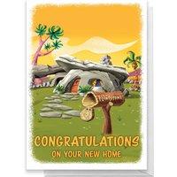 Flintstones New Home Greetings Card - Standard Card