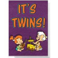 Flintstones It's Twins Greetings Card - Standard Card