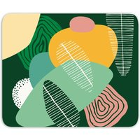 Abstract Leaves Mouse Mat