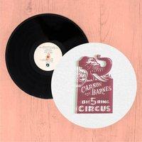 Carson And Barnes Big Five Ring Circus Slip Mat