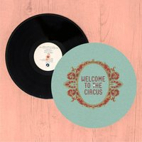 Welcome To The Circus Emblem Slip Mat