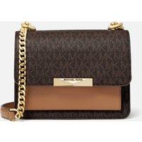 MICHAEL Michael Kors Women's Jade XS Gusset Cross Body Bag - Brown/Acorn