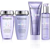 Kerastase Blond Absolu Shine, Strength, Neutralising and Heat Protection Routine