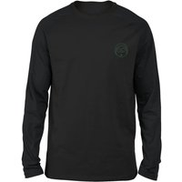 Rick and Morty Morty Embroidered Unisex Long Sleeved T-Shirt - Black - XL