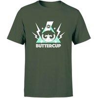 The Powerpuff Girls Buttercup Unisex T-Shirt - Forest Green - L - Forest Green