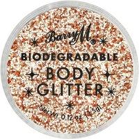 Barry M Cosmetics Biodegradable Body Glitter 3.5ml (Various Shades) - Pink Fizz