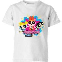 The Powerpuff Girls Kids' T-Shirt - White - 11-12 Years - White