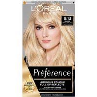 L'Oreal Paris Preference Infinia Hair Dye (Various Shades) - 9.13 Bergen Light Beige Blonde