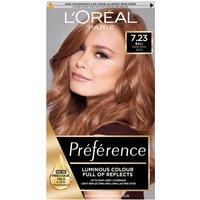 L'Oréal Paris Préférence Infinia Hair Dye (Various Shades) - 7.23 Bali Dark Rose Gold