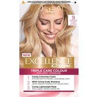 L'Oreal Paris Excellence Creme Permanent Hair Dye (Various Shades) - 9 Natural Light Blonde