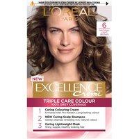 L'Oreal Paris Excellence Creme Permanent Hair Dye (Various Shades) - 6 Natural Light Brown