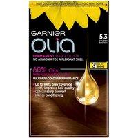 Garnier Olia Permanent Hair Dye (Various Shades) - 5.3 Golden Brown
