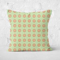 Pie Pattern Square Cushion - 40x40cm - Soft Touch