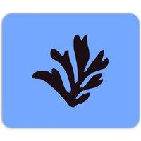 Black Leaf Mouse Mat