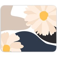 Abstract Daisies Mouse Mat