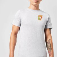 Ilustrata Forever Friends Men's T-Shirt - Grey - 5XL - Grey