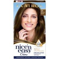 Clairol Nice' n Easy Creme Natural Looking Oil Infused Permanent Hair Dye 177ml (Various Shades) - 6