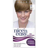 Clairol Nice'n Easy Semi-Permanent Hair Dye with No Ammonia (Various Shades) - 73 Ash Blonde