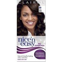 Clairol Nice'n Easy Semi-Permanent Hair Dye with No Ammonia (Various Shades) - 84 Darkest Brown