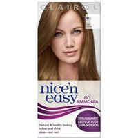 Clairol Nice'n Easy Semi-Permanent Hair Dye with No Ammonia (Various Shades) - 91 Dark Blonde