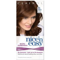 Clairol Nice'n Easy Semi-Permanent Hair Dye with No Ammonia (Various Shades) - 95 Medium Bronze Brow