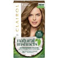 Clairol Natural Instincts Semi-Permanent No Ammonia Vegan Hair Dye 177ml (Various Shades) - 7 Dark B