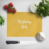 Image of Birthday Girl Chopping Board