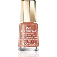 Mavala Brown Break Nail Colour 5ml