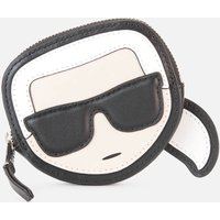 KARL LAGERFELD Womens K/Ikonik Karl Coin Purse - Black