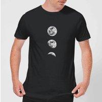 The Motivated Type 3 Moon Series Men's T-Shirt - Black - XL - Black